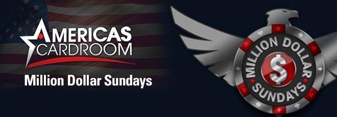Sundays Million Dollar Americas Cardroom